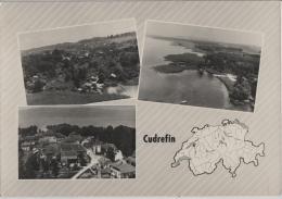 Cudrefin - Vue Generale - Multiview - Photo: Perrochet No. 2662 - VD Vaud