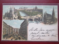 GRUSS AUS WIEN . 1897  RARE - Autres