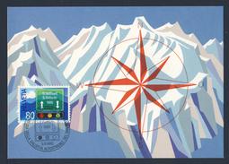 Switzerland Schweiz Suisse 1980 Card / Karte - Gotthardstrassentunnels / Galleria Stradale Del San Gottardo - Transportmiddelen