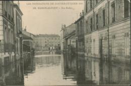 94 - Maisons Alfort - Les Inondations Janvier 1910 - Rue Rodier - Maisons Alfort