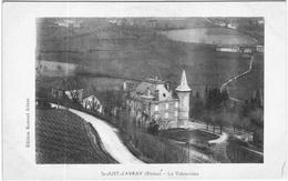 Carte Postale Ancienne De SAINT JUST D'AVRAY- La Valsonnière - Otros Municipios