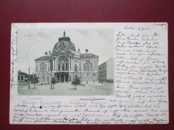 GRUSS AUS BUDAPEST .   LUSTSPIEL THEATER - Hungary