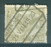 """BELGIE - OBP  TR Nr 59 - Cachet  """"HAREN-NORD Nr ..."""" - (ref. 12.385) - 1915-1921"""