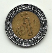 1994 - Messico 1 Nuevo Peso, - Messico