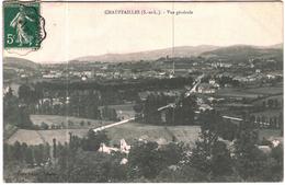 Carte Postale Ancienne De CHAUFFAILLES-Vue Générale - Altri Comuni
