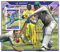 Togo. 2017 Cricket. (203b)