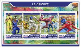 Togo. 2017 Cricket. (203a)