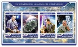 Togo. 2017 Sergey Korolev. (209a) - Space