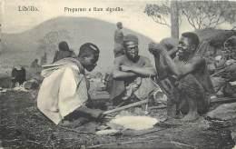 Angola - Libôllo - Preparam E Fiam Algodao - Angola