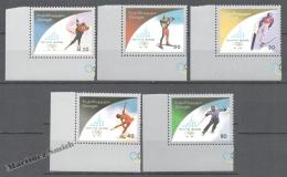 Georgie - Georgia 2005 Yvert 388-392, Winter Olympic Games 2006 At Turin, Italy - MNH - Georgia