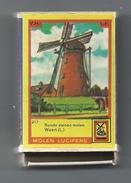 NL.- Weert. Molen Lucifers  217 - Ronde Stenen Molen - Luciferdoosje - Matchbox. 2 Scans - Luciferdozen