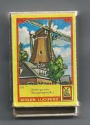 NL.- Hoogeveen. Molen Lucifers  232 - Stellingmolen - Luciferdoosje - Matchbox. 2 Scans - Luciferdozen