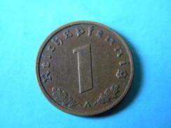 ALLEMAGNE - 1 REICHSPFENNIG 1937.A.