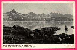 La Colonie D'Angmagssalik - Groenland Est - L'Administration Du Groenland - H. PETERSEN - N. KRABBE FOT. - Grönland