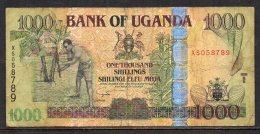 528-Ouganda Billet De 1000 Shillings 2008 XS058 - Ouganda