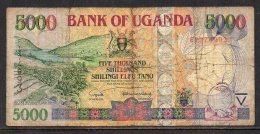 528-Ouganda Billet De 5000 Shillings 2005 FY374 - Ouganda