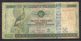 528-Ouganda Billet De 20 000 Shillings 2004 BC249 - Ouganda