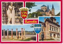 76 BARENTIN - MULTIVUES AVEC BLASON - EGLISE / HOTEL DE VILLE - Barentin
