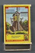 NL.- Leiden. Molen Lucifers  245 - Wip-Watermolen - Luciferdoosje - Matchbox. 2 Scans - Luciferdozen