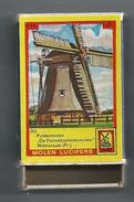 NL.- Witmarsum. Friesland. Molen Lucifers  253 - Poldermolen - De Pannekoekstermolen - Luciferdoosje - Matchbox. 2 Scans - Luciferdozen