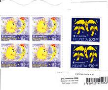 SCHWEIZ - SUISSE - 2008 - **/MNH - PRO JUVENTUTE -  2x100  +  4x85