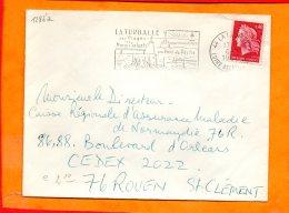 LOIRE-ATL., La Turballe, Flamme SCOTEM N° 1286a, Plages, Marais Salants, Port De Pêche - Postmark Collection (Covers)