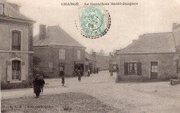 V9260 Cpa 53 Changé - Le Carrefour Saint Jacques - Frankreich
