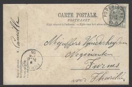 Postkaart Verstuurd Uit Poperinge