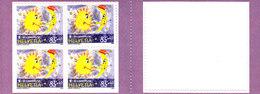 SCHWEIZ - SUISSE - 2008 - **/MNH - PRO JUVENTUTE -   4x85 - FROM BOOKLET