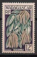 Madagascar - 1957 - N°Yv. 334 - Vanille - Neuf Luxe ** / MNH / Postfrisch - Ungebraucht