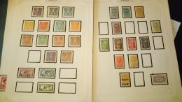 D1389 LOT FEUILLES AUTRICHE A TRIER BELLE COTE DÉPART 10€ - Sammlungen (im Alben)