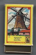 NL.- Oene. Gelderland. Molen Lucifers  270 - Stellingmolen - Werklust - Luciferdoosje - Matchbox. 2 Scans - Luciferdozen
