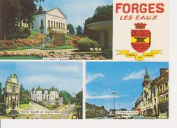 76 FORGES LES EAUX - MULTIVUES AVEC BLASON - Forges Les Eaux