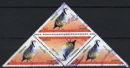 Pakistan 2009 Block 4 V Used CHUKAR BIRDS  NATIONAL YEAR OF ENVIRONMENT Bird Oiseaux - Pájaros