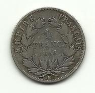 1856 - Francia 1 Franc^ - Frankreich