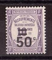 1926 - Taxe N° 51 - Neuf ** - Surchargé - 1859-1955 Postfris