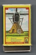 NL.- Noordwijk. Molen Lucifers  283 - Wipmolen - Hoogsewegsemolen - Luciferdoosje - Matchbox. 2 Scans - Luciferdozen