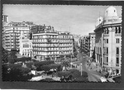 CPSM Format CPA - ALGER - La Poste Et La Rue D'Isly, Animé - Algerien