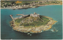 ST. MICHAEL'S MOUNT, MARAZION CORNWALL. AERIAL VIEW - St Michael's Mount
