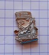 Pin's   Tabac Cigarette Pipe Briquet Marin Bateau Le Charcot  Badge   Logo - Badges