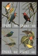 PALAU - 1986 - N° 87 à 90 En Bloc - Neufs ** - Oiseaux - Palau