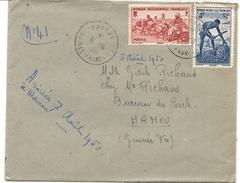 GUINEE . LETTRE DE KAKAN A MANOU - A.O.F. (1934-1959)