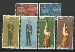Líbano_1964_Festival De Baalbek. - Libanon