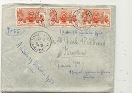 GUINEE . LETTRE DE KAKAN A KINDIA - A.O.F. (1934-1959)