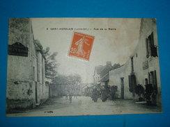"""44 ) Saint-herblain N° 6 - Rue De La Mairie """" Attelage """"  - Année 1928 - EDIT - Chapeau - Saint Herblain"""