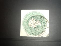 INDE   KOTAGIRI   Colonie  Stamp  VR   Entier Découpé - India (...-1947)