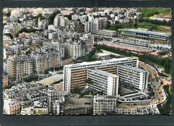 CPSM Format CPA - ALGER - Vue Aérienne - Le Gouvernement Général - Le Stade Leclerc - Algerien