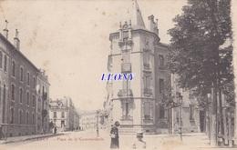 CPA De  NANCY   (54) -  PLACE De La COMMANDERIE  - ANIMATIONS - 1904 - Nancy
