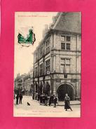 70 HAUTE SAONE, LUXEUIL LES BAINS, Maison François 1 Er Et Grande Rue, Animée, (Ad. Weick) - Luxeuil Les Bains