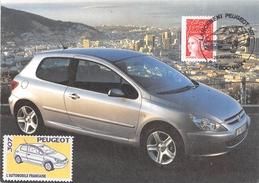 25 - Sochaux - Lancement De La 307 Le 26 Avril 2001 - Sochaux